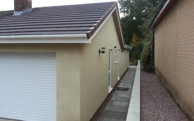 Extension  At Cobbs Lane Hough